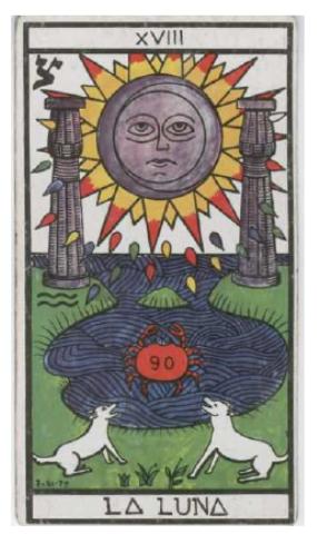 XVIII.– LA LUNA